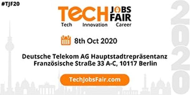 Tech Jobs Fair,Berlin, VisitBerlin,Konferenz,Kongress,Tagung